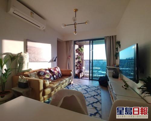 這是屯門海典軒1座中層B室,實用面積483方呎。