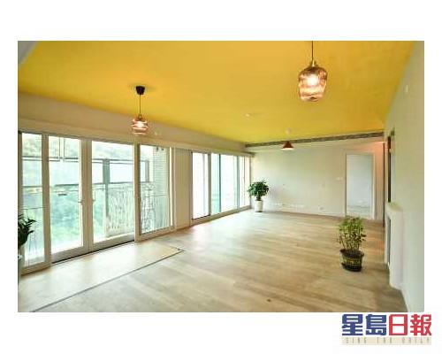 這個放盤屬於名門3座高層B室,實用面積1528方呎。