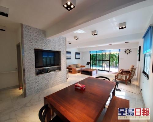 這個西貢大網仔氹笏單號村屋,建築面積1750方呎。