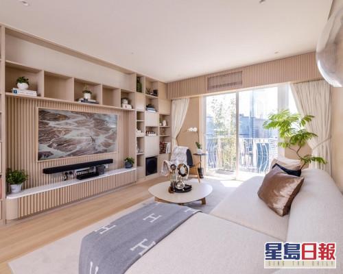 這個放盤位於金鑾閣高層B室,實用面積1204方呎,現時叫價3250萬。